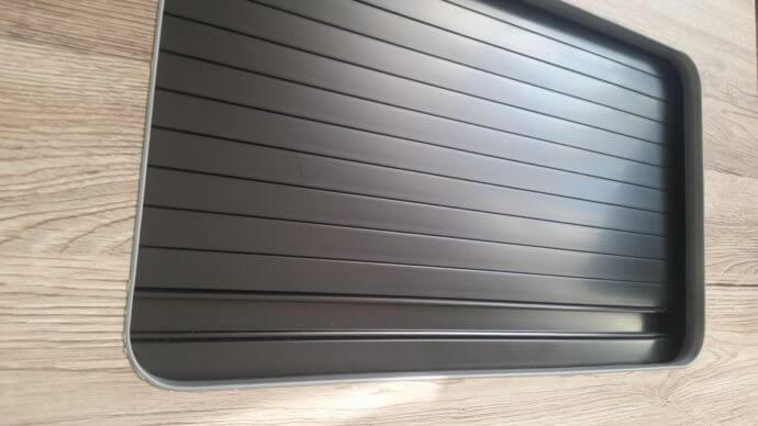 Home / Tambour Doors & Black Campervan Tambour Door | High peak Conversions