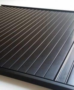 Black Tambour roller Door
