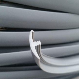 Light Gray single lipped T-trim edging